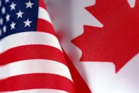 Cdn-American flags