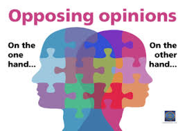 Are your opinions what you depend on?