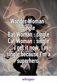 single Superheroine