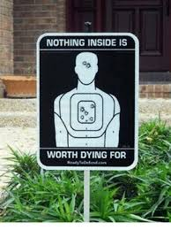 dying - nothing inside is worth sign