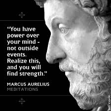 strength - power over mind - Aurelius