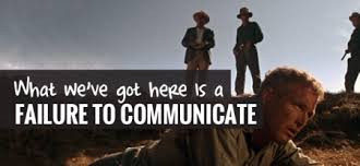 Communication & negotiation - Failure to communicate