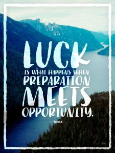 decision making-Luck and opportunity
