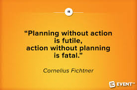 planning without action