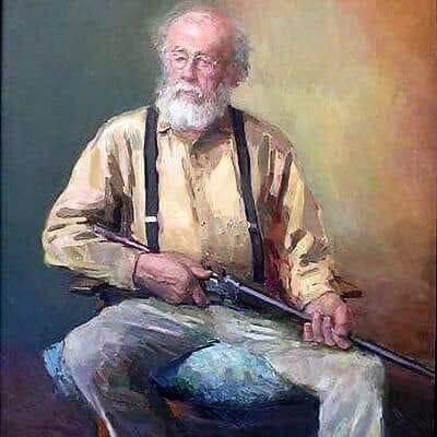 farmer with gun-