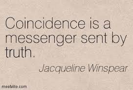 coincidence - messenger - Winspear