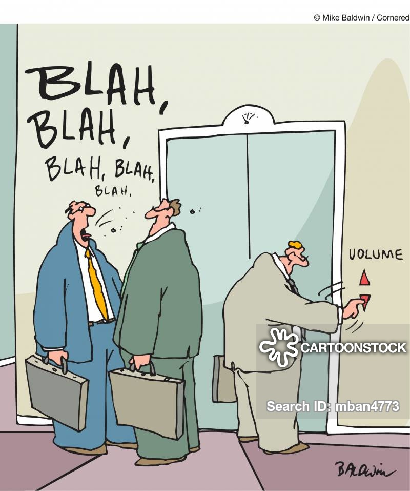 Elevator volume control.