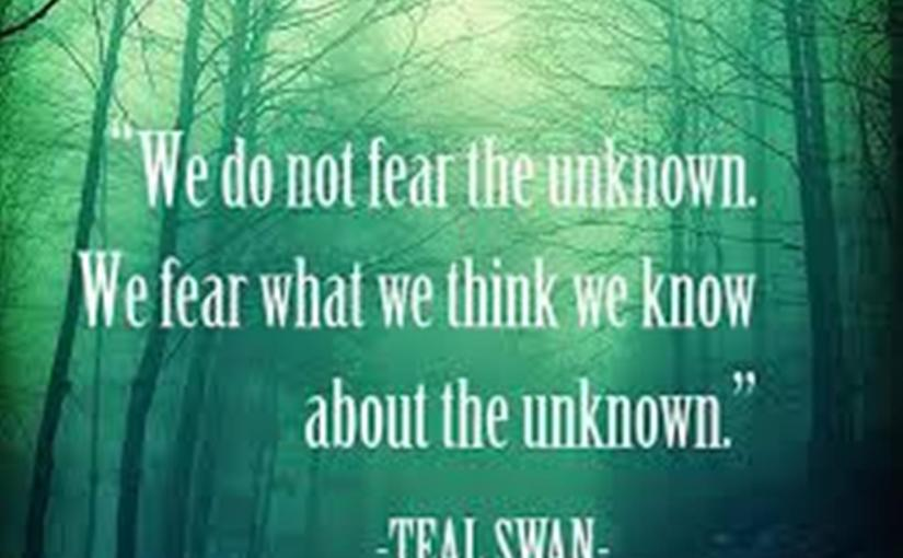 Letting go anything, requires that we become vulnerable. It's fear which stops us from moving forward, or even exploring what it is that frightensus!
