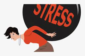 stress-woman carrying
