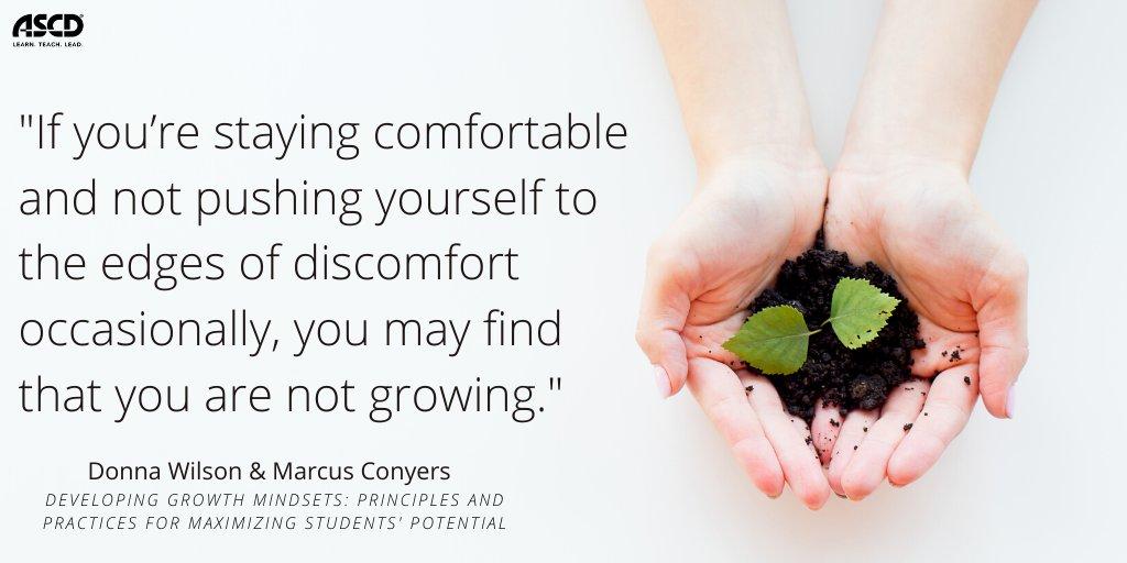 discomfort = growth